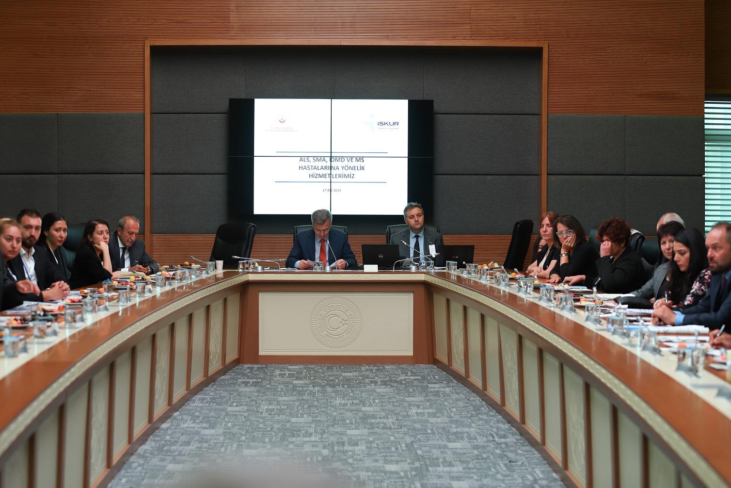 TBMM Nadir Hastalıklar Araştırma Komisyonu'nun Toplantısına Katıldık