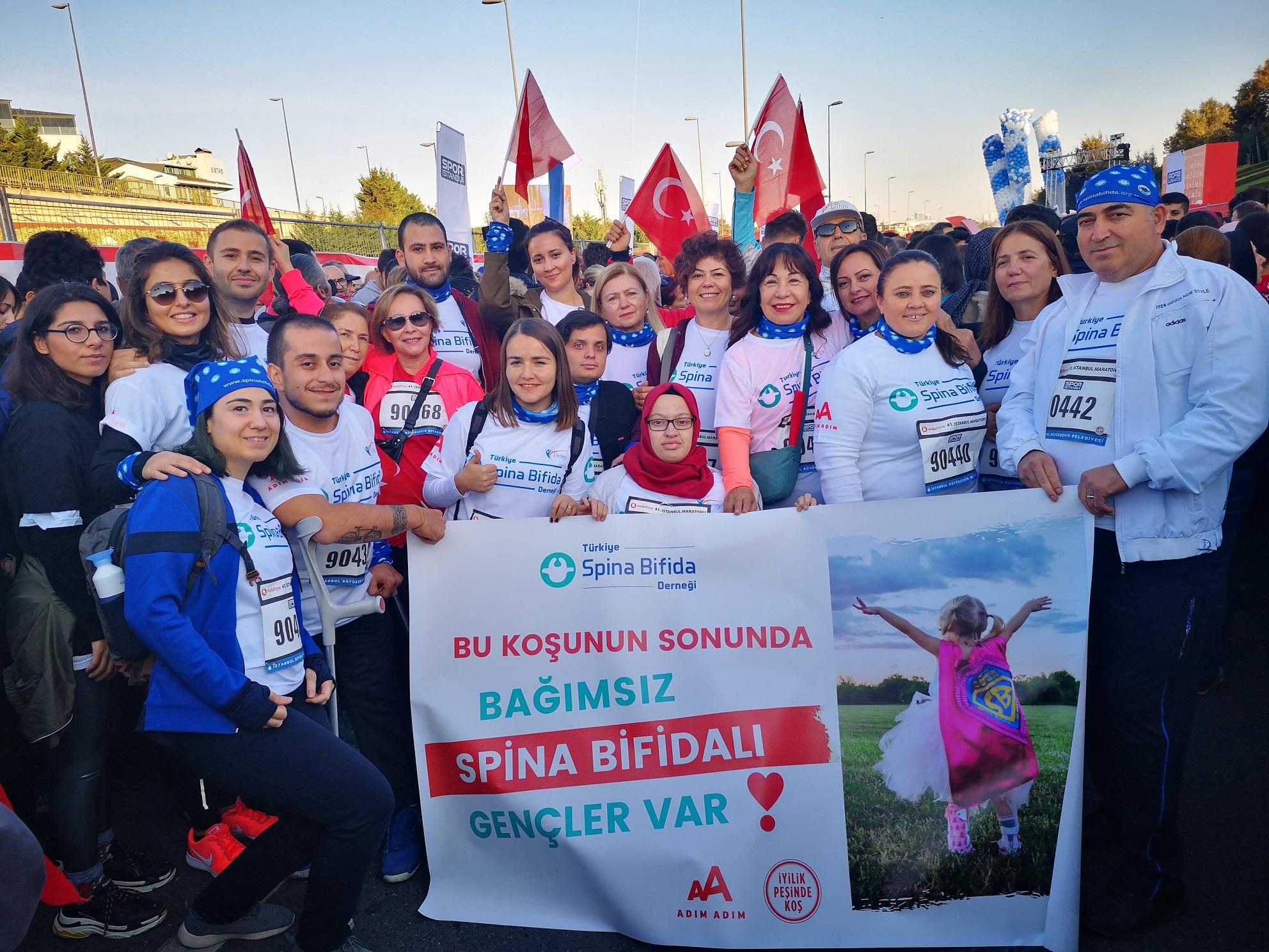 41. İstanbul Maratonu'na Katıldık