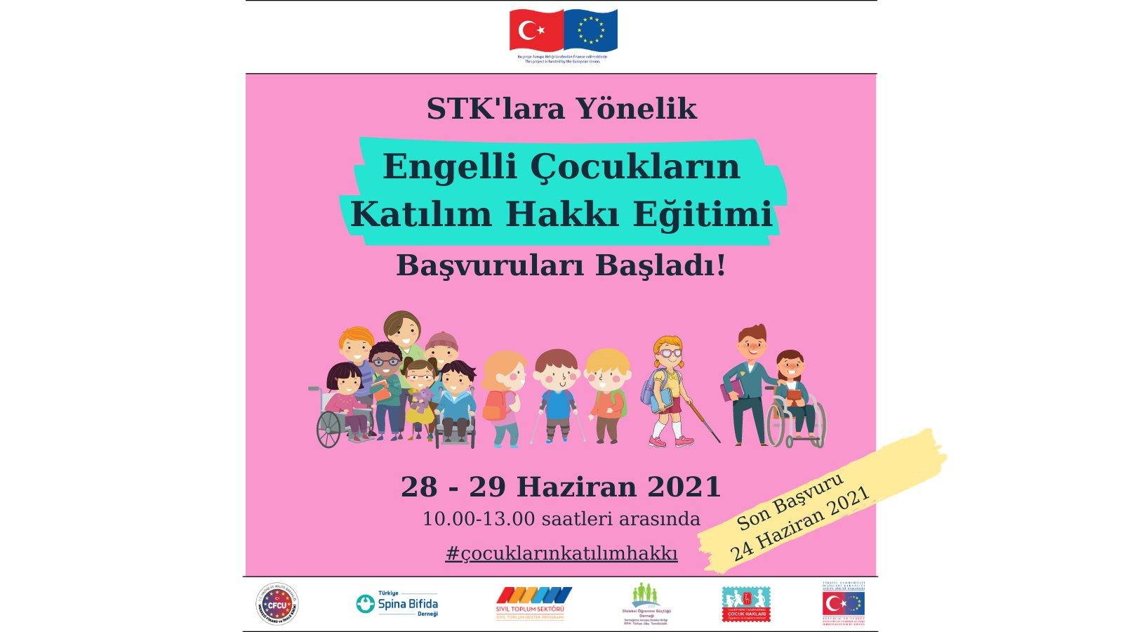 Engelli Çocukların Katılım Hakkı STK Eğitimi